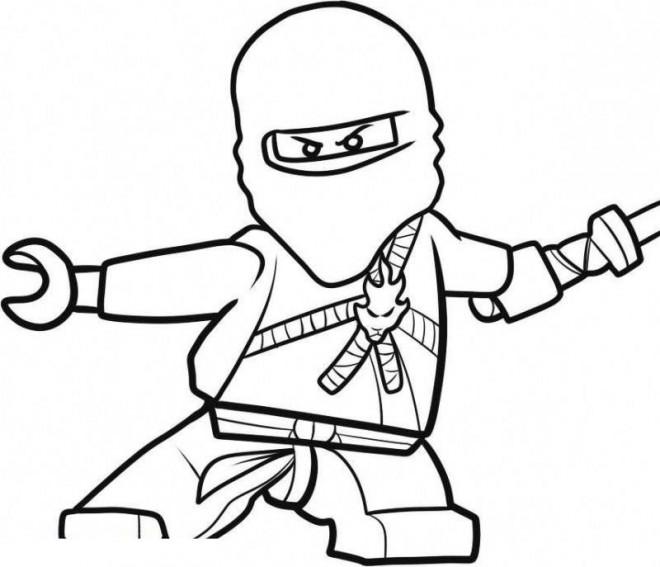 Coloriage et dessins gratuits Ninjago saison 4 à colorier à imprimer