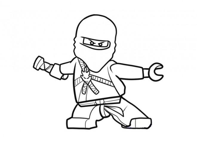 Coloriage et dessins gratuits Ninjago saison 5 en ligne à imprimer