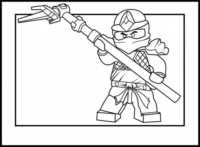Coloriage et dessins gratuits Ninjago saison 6 à imprimer