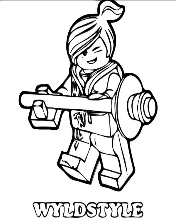 Coloriage ninjago wyldstyle dessin gratuit imprimer - Dessin de ninjago a imprimer ...