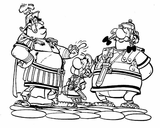 Coloriage Asterix Et Obelix A Imprimer Gratuit.Coloriage Asterix Obelix Et Les Romains
