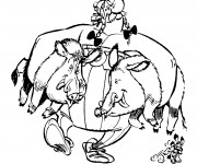 Coloriage Obelix 2