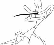 Coloriage et dessins gratuit Marky souriant en ligne à imprimer