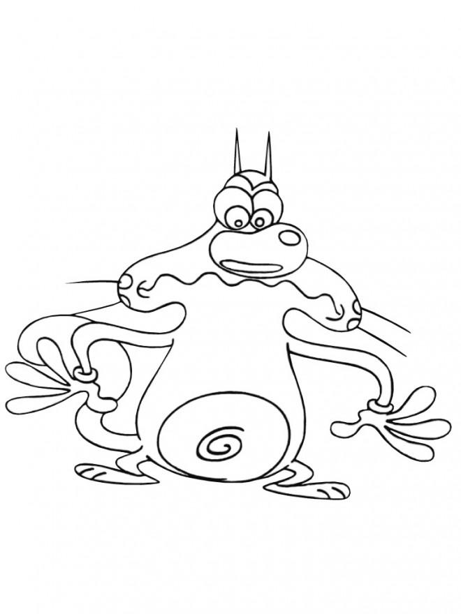 Coloriage et dessins gratuits Oggy image à télécharger à imprimer