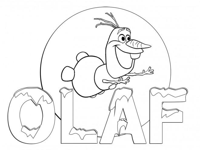 Coloriage Olaf.Coloriage Image Olaf A Imprimer Dessin Gratuit A Imprimer