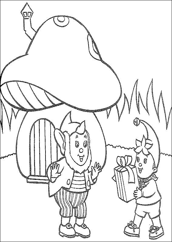 Coloriage et dessins gratuits Oui Oui dessin animé à imprimer