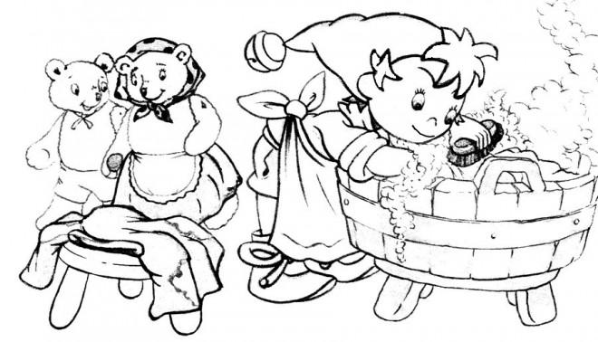 Coloriage oui oui fait le m nage dessin gratuit imprimer - Le dessin anime oui oui ...