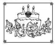 Coloriage et dessins gratuit Pat Patrouille 12 à imprimer