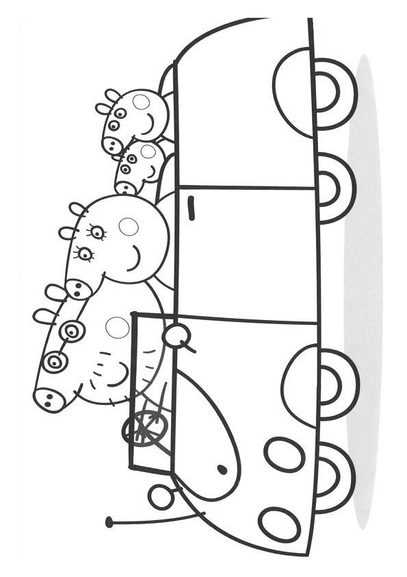 Coloriage et dessins gratuits Peppa Pig 16 à imprimer