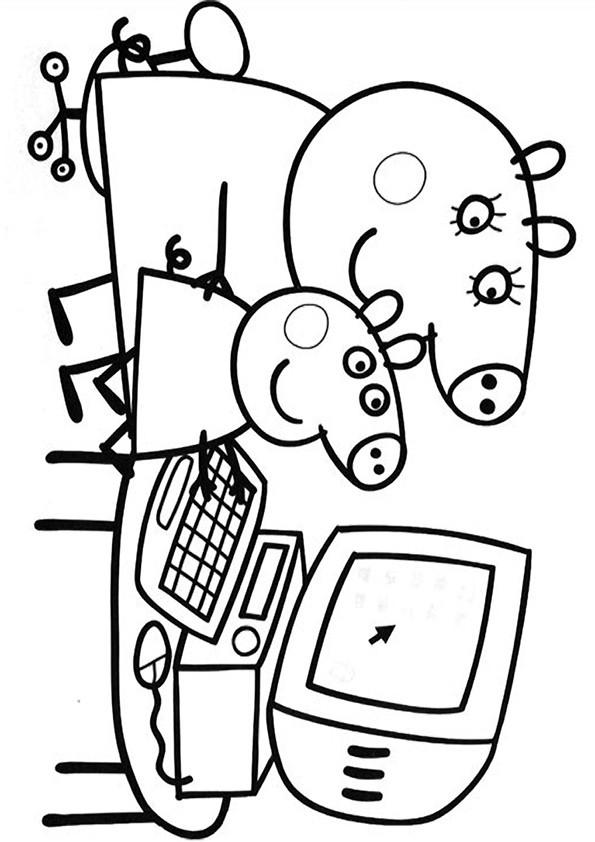 Coloriage peppa pig 18 dessin gratuit imprimer - Dessin a imprimer peppa pig ...