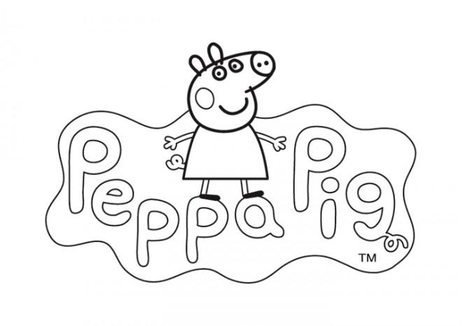 Coloriage et dessins gratuits Peppa Pig 21 à imprimer