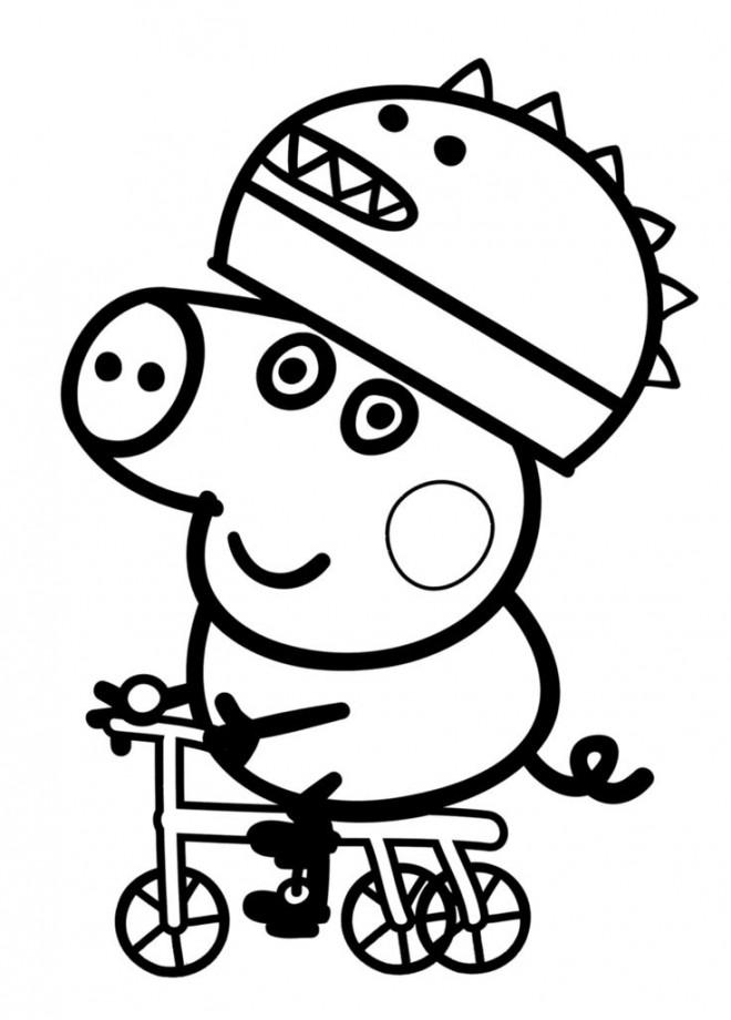 Coloriage et dessins gratuits Peppa Pig 26 à imprimer