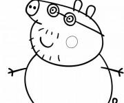 Coloriage peppa pig 1 gratuit imprimer en ligne - Peppa pig telecharger ...