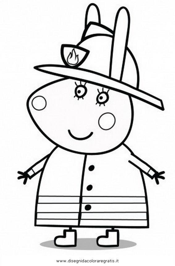Coloriage et dessins gratuits Peppa Pig 42 à imprimer