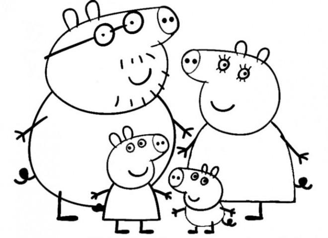 Coloriage et dessins gratuits Peppa Pig 44 à imprimer