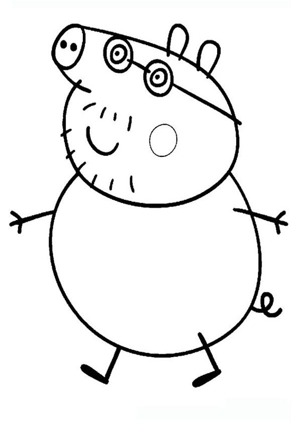 Coloriage peppa pig d couper dessin gratuit imprimer - Dessin a imprimer peppa pig ...