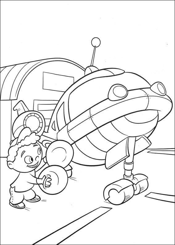 Coloriage et dessins gratuits Petit Einstein 23 à imprimer