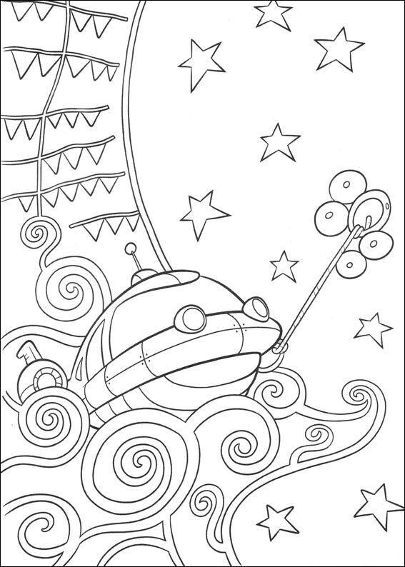 Coloriage et dessins gratuits Petit Einstein découvrent la mer à imprimer