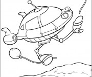 Coloriage Space Ship dessin