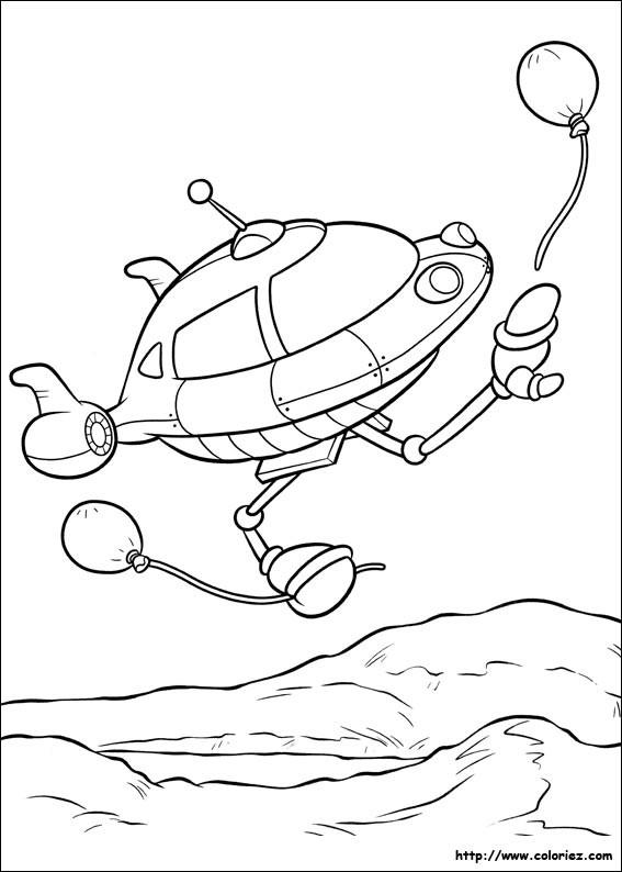 Coloriage et dessins gratuits Space Ship dessin à imprimer