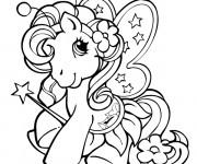 Coloriage et dessins gratuit Le mignon: Mon petit poney à imprimer