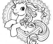 Coloriage Mon petit poney aimable