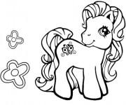 Coloriage petit poney gratuit imprimer liste 20 40 - Jeux de poney qui saute ...