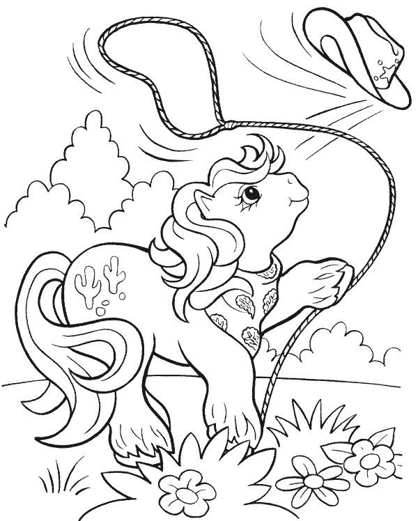 Coloriage et dessins gratuits Petit Poney 60 à imprimer