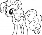 Coloriage et dessins gratuit Pinkie Pie de Mon petit poney à imprimer