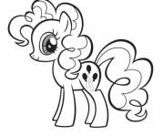 Coloriage et dessins gratuit Pinkie Pie mon petit poney à imprimer