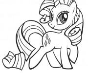 Coloriage et dessins gratuit Rarity de mon petit poney à imprimer