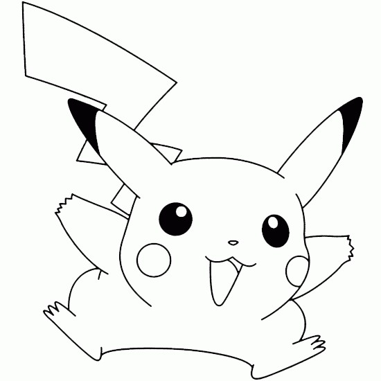 Coloriage pikachu 13 dessin gratuit imprimer - Pikachu a imprimer ...