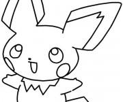 Coloriage Pikachu 15