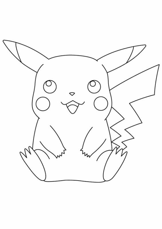 Coloriage pikachu 18 dessin gratuit imprimer - Pikachu dessin anime ...