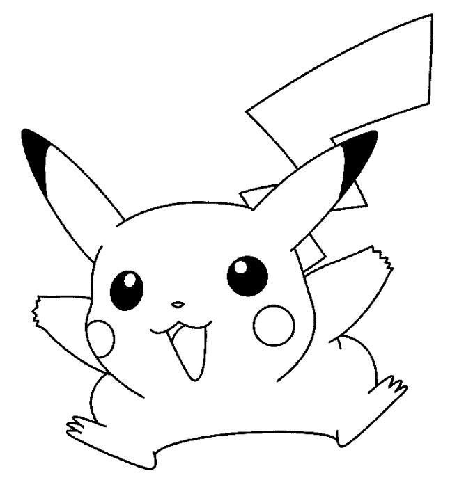 Coloriage et dessins gratuits Pikachu 26 à imprimer