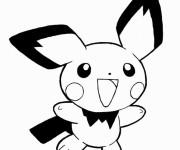 Coloriage Pikachu 30