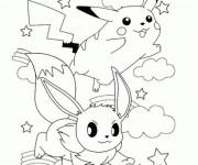Coloriage et dessins gratuit Pikachu 31 à imprimer
