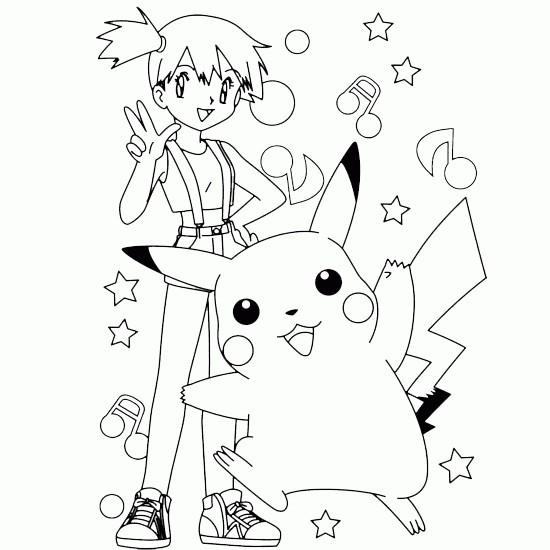 Coloriage Pikachu 39 dessin gratuit à imprimer