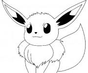 Coloriage Pikachu 43