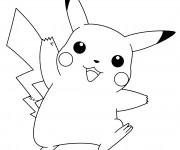 Coloriage Pikachu 46