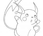 Coloriage Pikachu 49