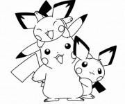 Coloriage Pikachu 51