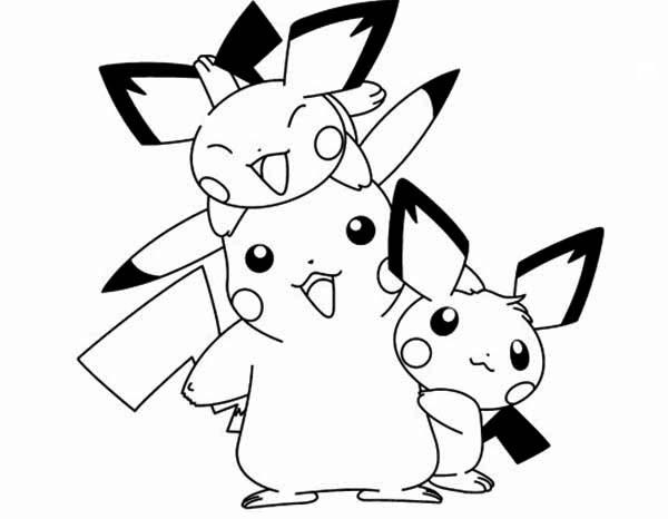Coloriage et dessins gratuits Pikachu 51 à imprimer
