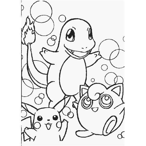 Coloriage et dessins gratuits Pikachu 54 à imprimer
