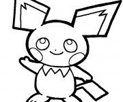 Coloriage Pikachu 55