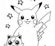 Coloriage Pikachu 56