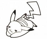 Coloriage et dessins gratuit Pikachu 6 à imprimer