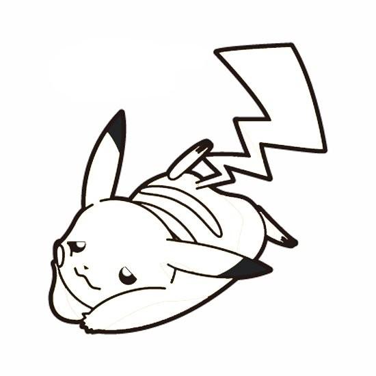 Coloriage et dessins gratuits Pikachu 6 à imprimer