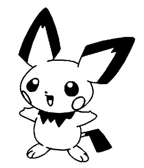 Coloriage Pokémon Evoli Dessin Gratuit à Imprimer