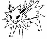 Coloriage dessin animé Pokémon